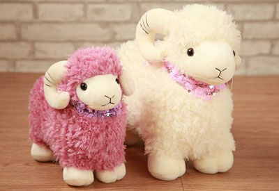 Plush toy for sheep